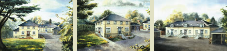 Artist impression - Little Ashley Court, Ryeworth Road, Cheltenham