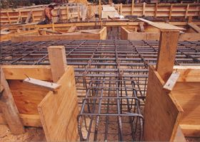 ground level ring beams